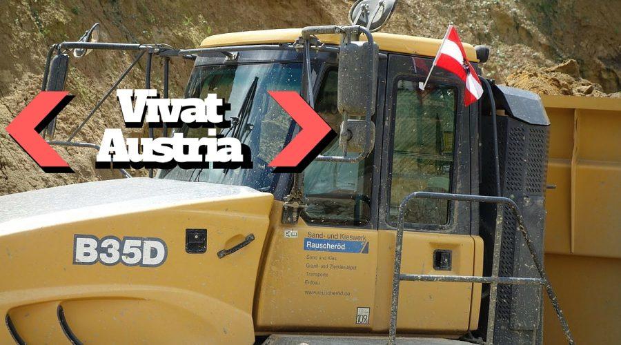 Vivat Austria – Viel Dumper in rot-weiß-rot